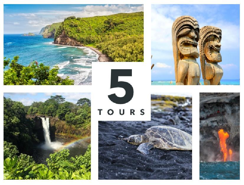 Shaka Guide Big Island Driving Tour Bundle