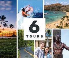 Shaka Guide Oahu Driving & Walking Tour Bundle
