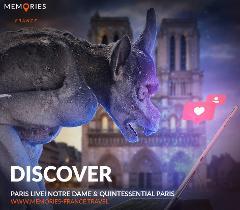 Paris, Online Live Tour, Shared, Notre Dame & Quintessential Paris