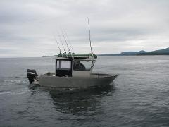 Boat Rental 20' Aluminum Sport Fisher