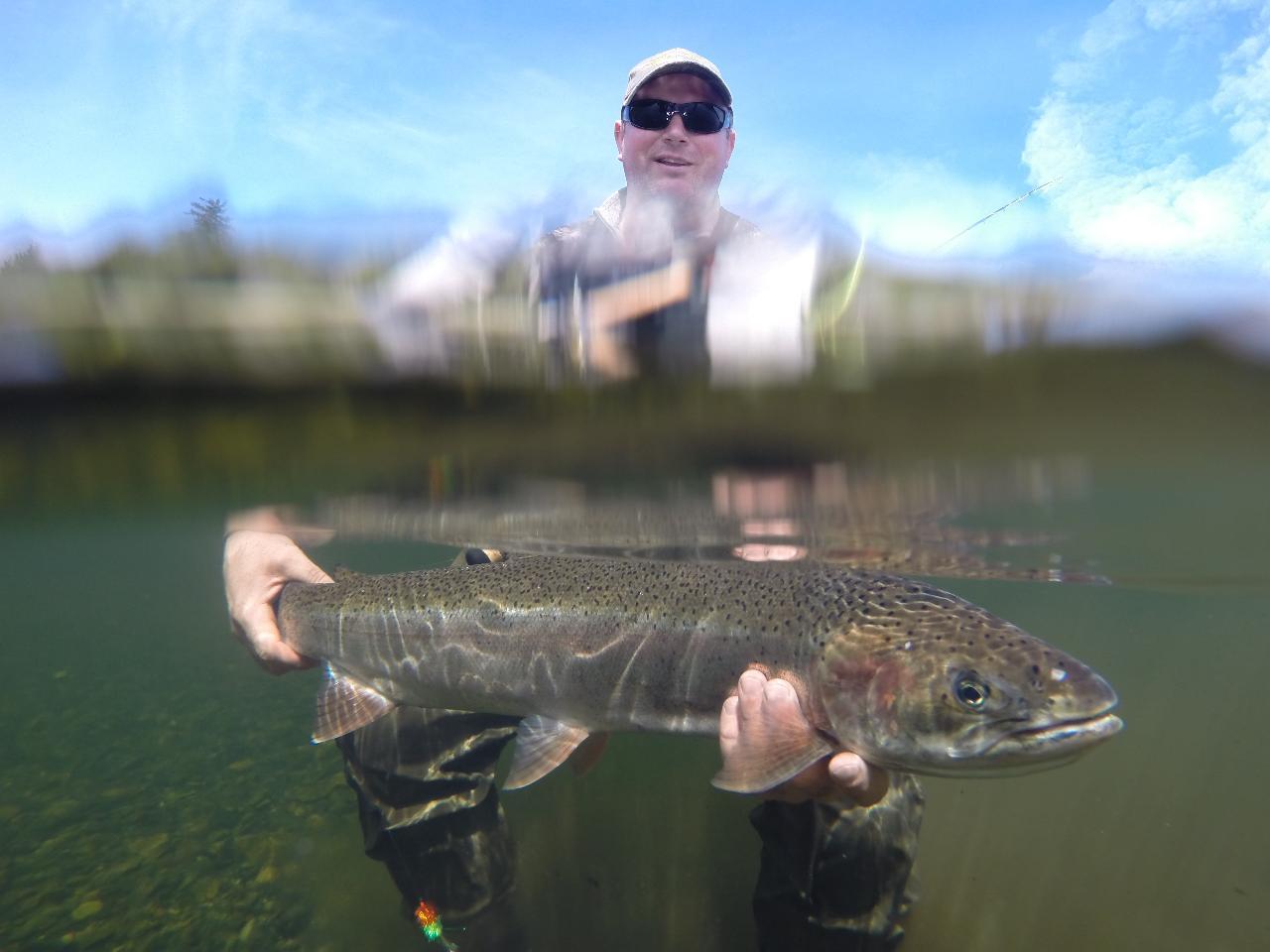 Spring Steelhead 3 days fishing 4 nights lodging all inclusive.