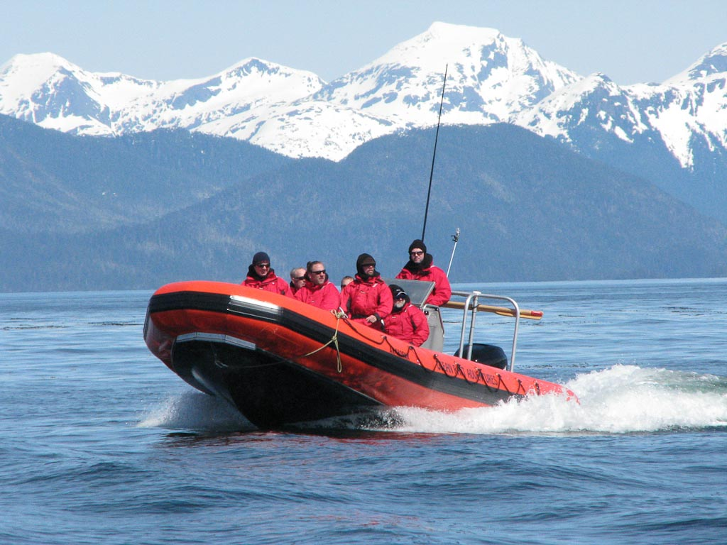 Volcano Coast Ocean Raft Adventure