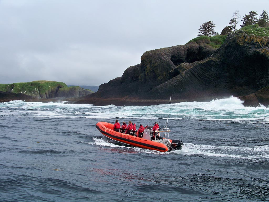 Goddard Hot Springs and Volcano Coast Ocean Rafting