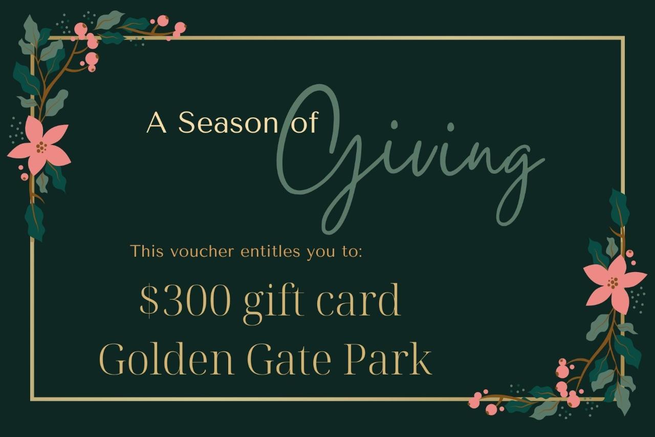 $300 Gift Card - Golden Gate Park