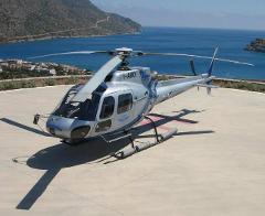 Santorini to Mykonos Helicopter Flight