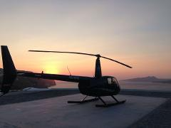 Sunset Flight: 20 Min Santorini Helicopter Flight