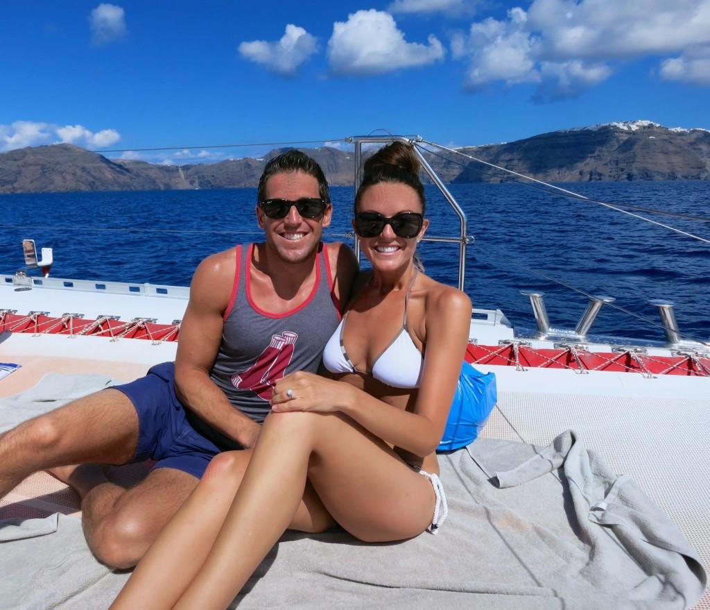 Golden Route: Santorini Caldera Cruise with Sunset Views at Ammoudi Bay