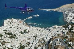 Helicopter Day Trips from Santorini