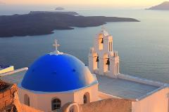 (OLD) Santorini Highlights: 5-Hour Private Tour with Wine-Tasting
