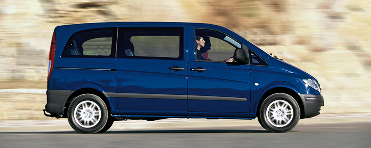 Mini-van Private Transfer up to 6 Guests - Oneway