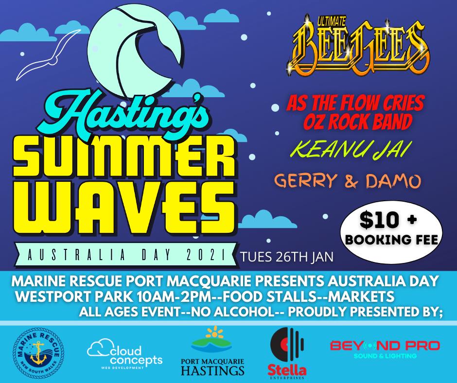 Hasting's Summer Waves - Australia Day 2021