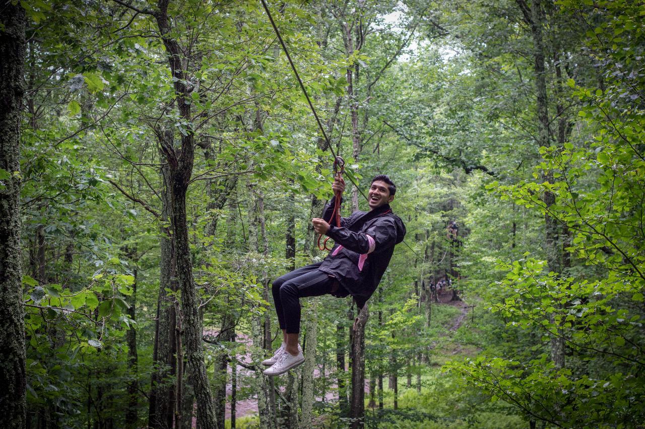 Treetop Adventure Course