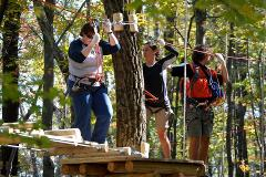 Treetop Adventure Course - Half Tour