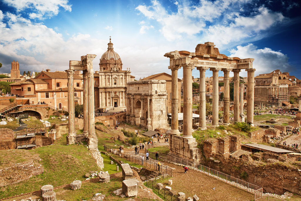 Colosseum & Ancient Rome: Afternoon No-Wait Tour, Small Group
