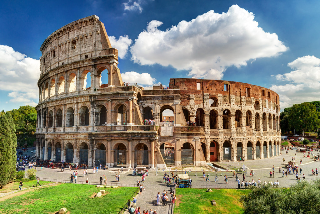 Colosseum & Ancient Rome: Afternoon No-Wait Tour, Large Group