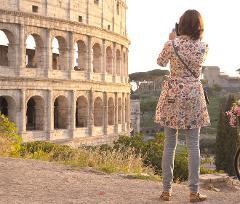 Colosseum Arena Floor and Gladiators Gate