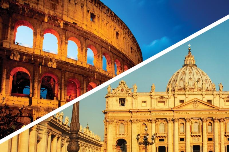 Semi Private Vatican & Colosseum Skip-the-line Combo Tour