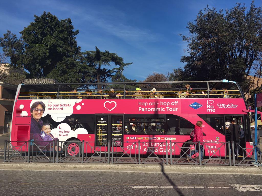 Rome Hop-On/Hop-Off Bus Tour