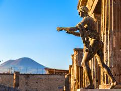 Pompeii and Vesuvius Tour from Naples: Large Group