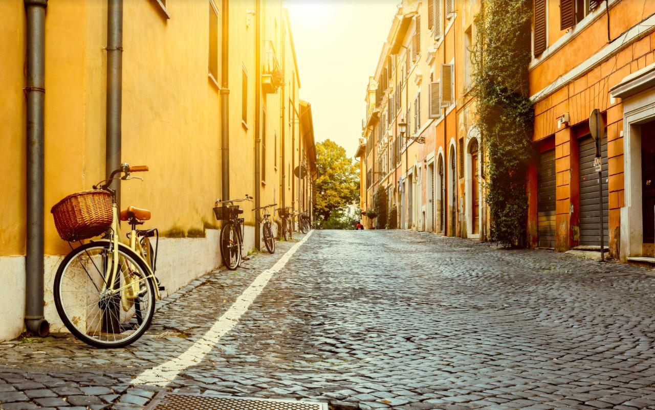 Rome Bike Tour & Food Tasting