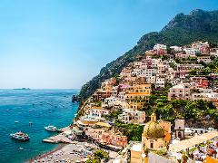 Amalfi Coast & Pompeii Day Tour from Rome by High-Speed Train: Large Group