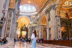 Entire Vatican Tour & St. Peter's Dome Climb