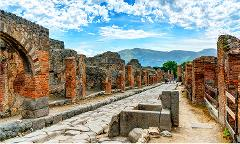 Getaway for A Day: Pompeii & Mount Vesuvius Day Trip from Rome by High-Speed Train