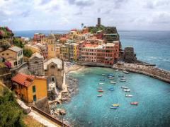 Getaway For A Day:  Cinque Terre Excursion from Florence Campo di Marte by Train
