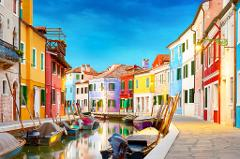 Venetian Islands Tour: Murano Glassblowing & Burano Lacemaking: Large Group