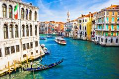 Best of Venice Walking Tour with St. Mark's Basilica and Grand Canal Ride
