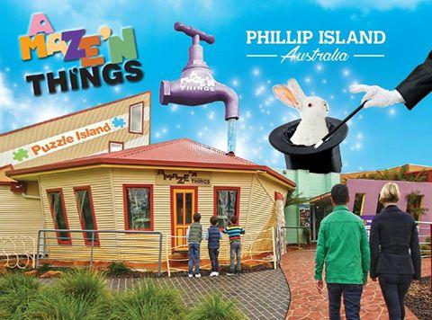 Puzzle Island, Magic Manor, Maze and Mini Golf