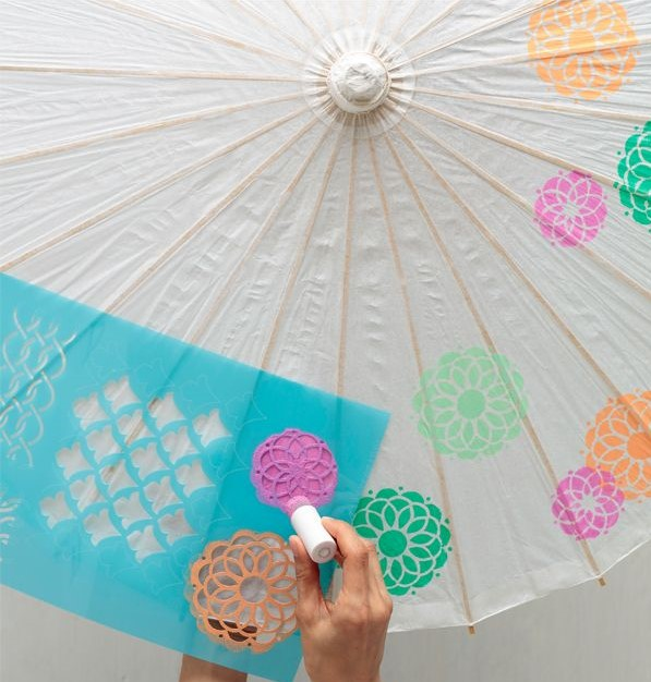 Practically Perfect Decorated Umbrellas