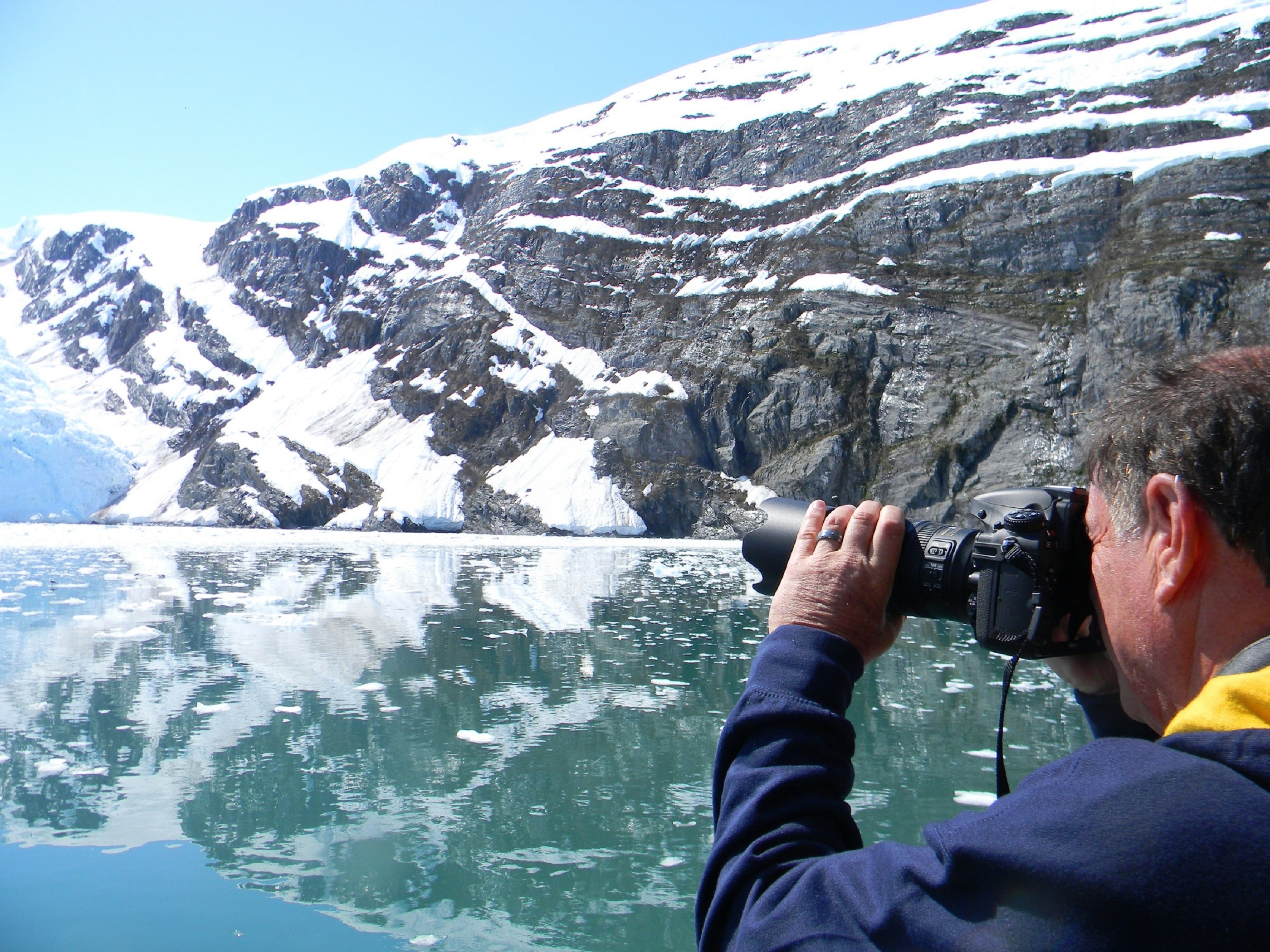 Winter Glacier and Wildlife Cruise - Self Driving