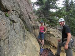 Rock Climbing on Turnagain Arm