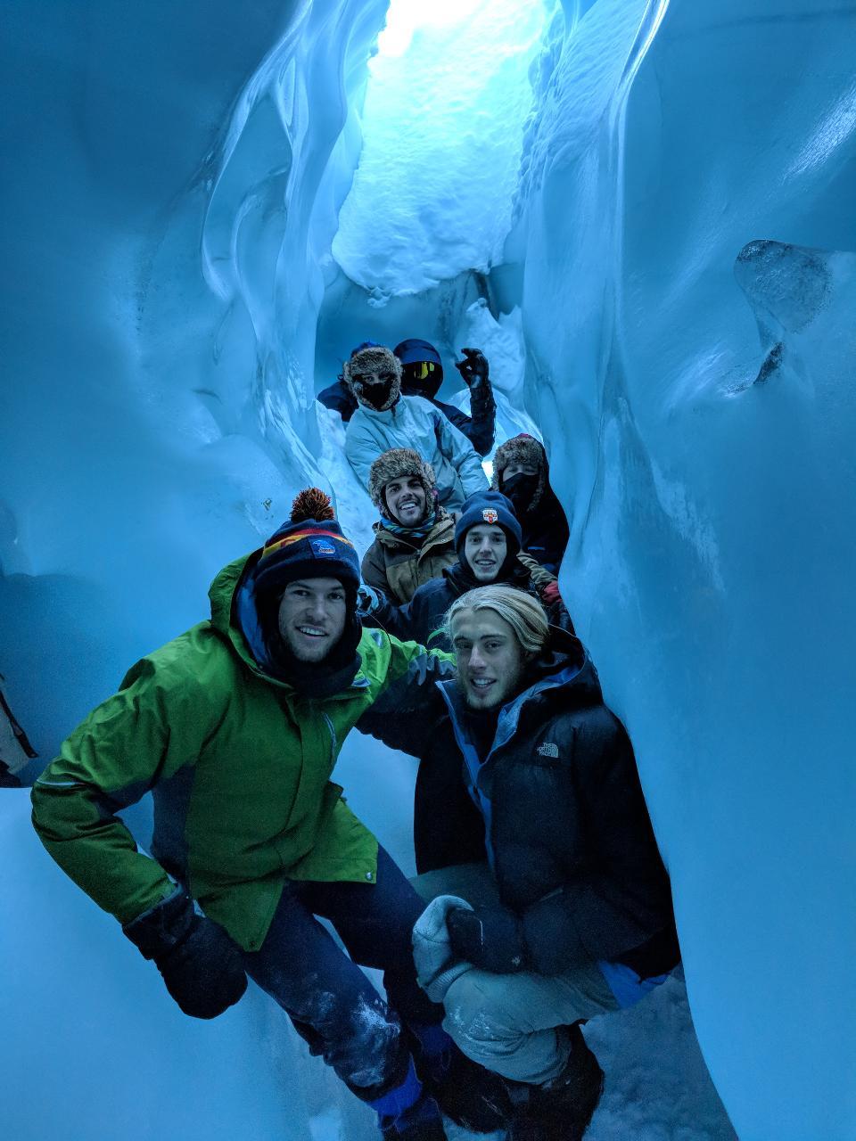 Matanuska Glacier Winter Tour