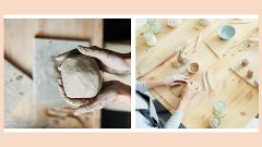 Adults & Teens Clay Hand Building Virtual Class (Kit Included)