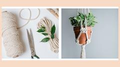 Adults Virtual Macrame Plant Hanger Workshop (Kit Included)