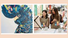 Virtual paint with Shima (Adults) - Black Cockatoo