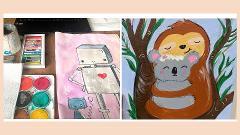 Virtual Art with Jen - Pastels & Watercolour