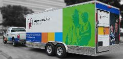 XCShriners trailer/parade float secure parking area