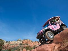 Sedona -Wrangler Round-up & Diamondback Gulch Tour Combo