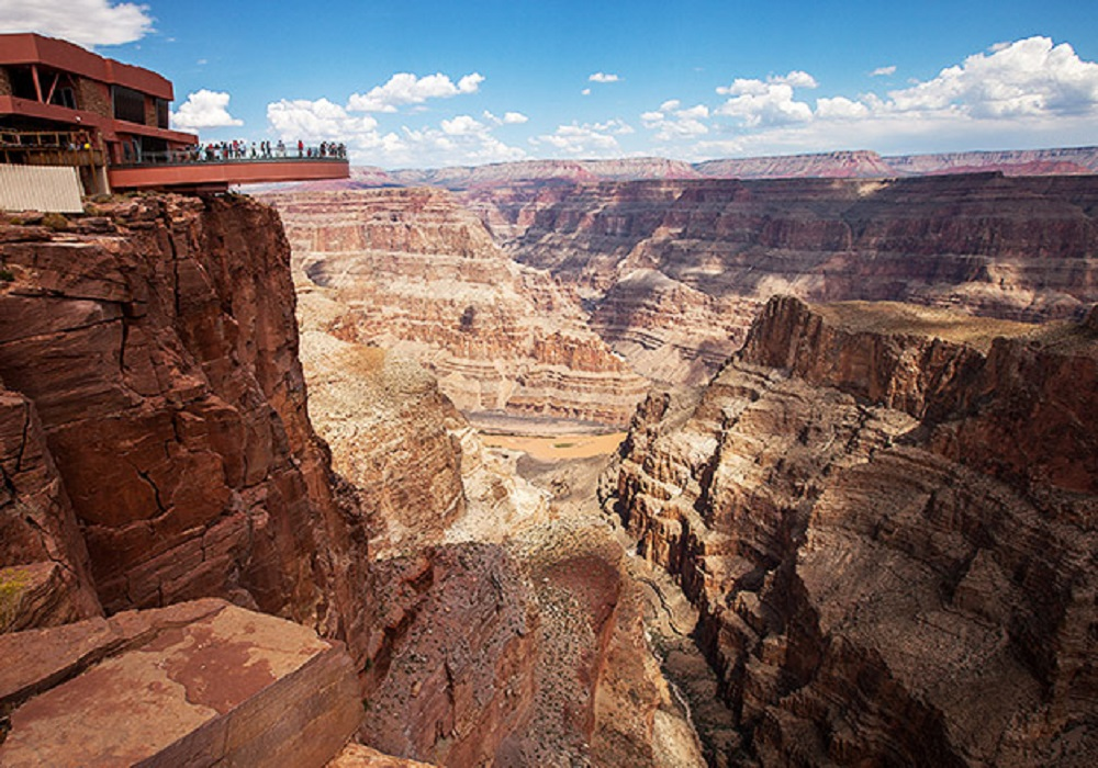 Grand Canyon West Rim by Luxury Limo Van w/ Skywalk Tickets
