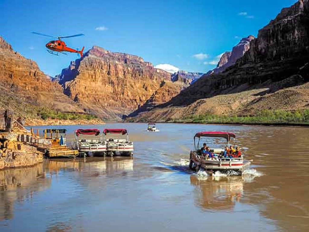 Grand Canyon Drive, Fly & Float Tour by Jeep