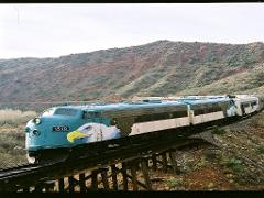Verde Canyon Railroad - Grape Train Escape