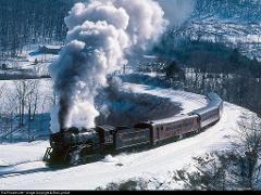 Western Maryland Scenic Railroad - Steam Train - North Pole Experience