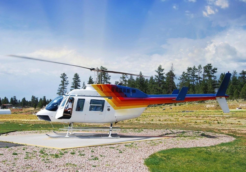 Grand Canyon South Rim by Luxury Limo Van w/ Helicopter Ride