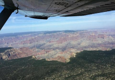 Grand Canyon South Rim Tour with Skydiving