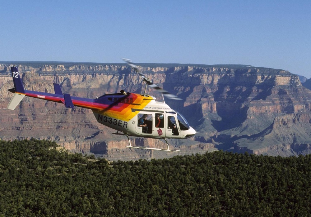 Grand Canyon West Rim by Luxury Limo Van w/ Helicopter Ride