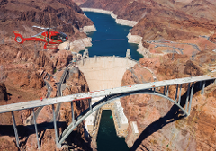 Hoover Dam Deluxe Tour with Helicopter Flight