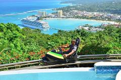 Mystic Mountain Jamaica Bobsled from Runaway Bay